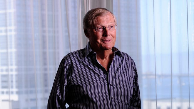 Adam West, who played Batman during the 1960s TV series, joined USA TODAY for a fun interview and photo shoot at San Diego Comic-Con in 2014.