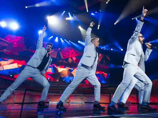 The Backstreet Boys will be among the pop groups saluted during the Boy Band Review at The Vogue on March 25.