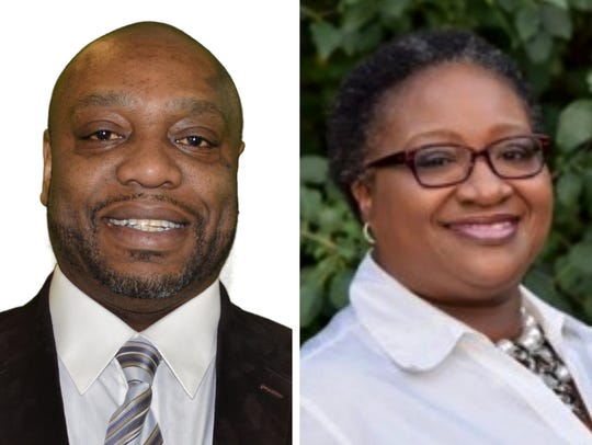 Kenneth Ginlack Sr. (left) and Felesia Martin (right) are competing for Milwaukee County Board District 7 supervisor in the April 3 election.
