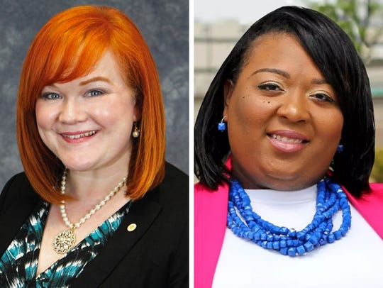 Supervisor Deanna Alexander (left) and Sparkle Ashley (right) are competing for Milwaukee County Board District 18 supervisor in the April 3 election.