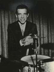 Jazz drummer Buddy Rich, a frequent visitor to Milwaukee, poses in this 1970 file photo.