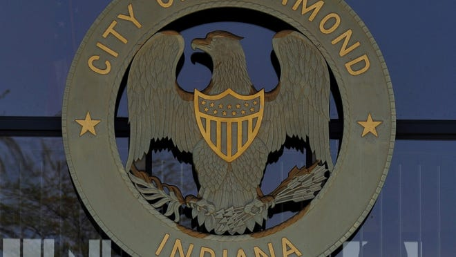City seal on the Richmond Municipal Building