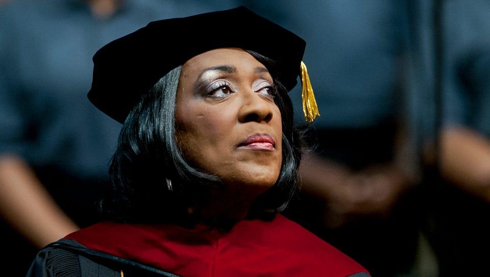 Alabama State University President Gwendolyn Boyd at