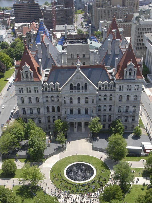 Albany aerial