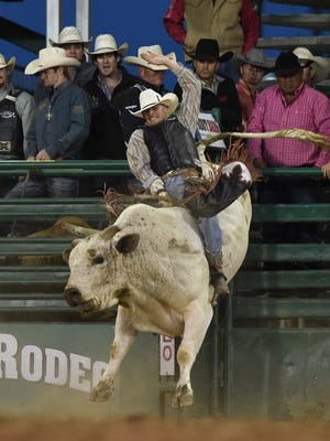 Action photos from the Xtreme Bulls event at the Reno Rodeo on Thursday night June 16, 2016.