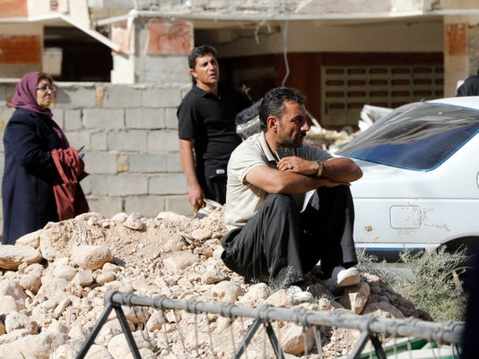 EPA IRAN EARTHQUAKE DIS EARTHQUAKE IRA KE