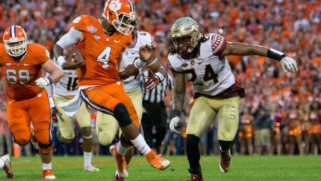 The Clemson Tigers defeated the Florida State Seminoles by a score of 23-13 at Memorial Stadium in Clemson, SC. The 'Noles head back to Tallahassee to prepare for their next game against NC State.
