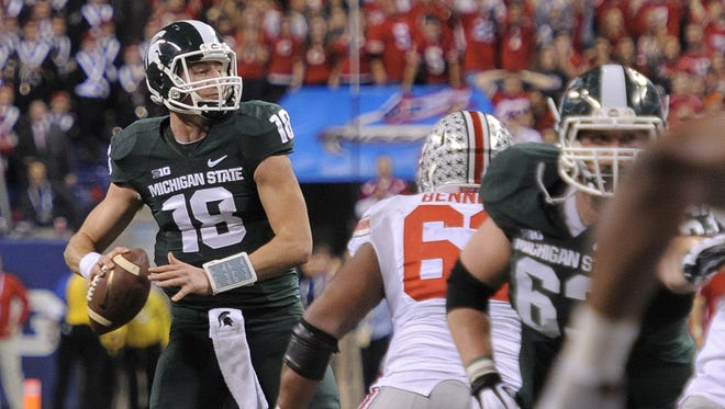 Michigan State quarterback Connor Cook should be one of the Big Ten's stars this season.