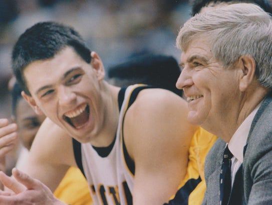 University of Iowa basketball player Chris Street and