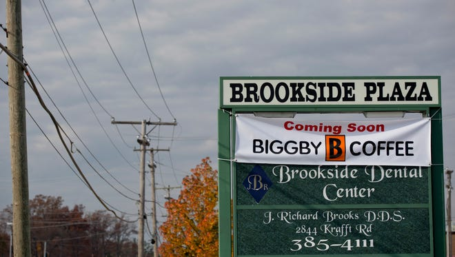 A Biggby Coffee will be opening in Brookside Plaza, 2856 Krafft Road in Fort Gratiot.