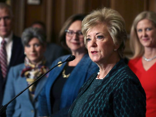 Small Business Administration Administrator Linda McMahon