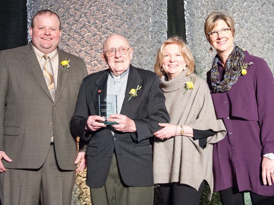 Mark Anderson (from left), Chair, LeadingAge Minnesota