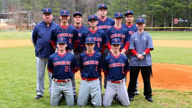 The Carolina Day baseball team.