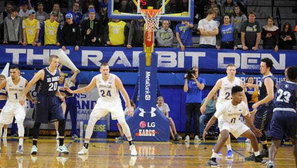 SDSU's men open the regular season Nov. 10 in Brookings