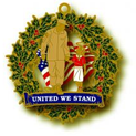 United We Stand Christmas Ornament