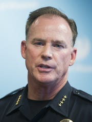 Former Phoenix Police Chief Joseph Yahner, who retired