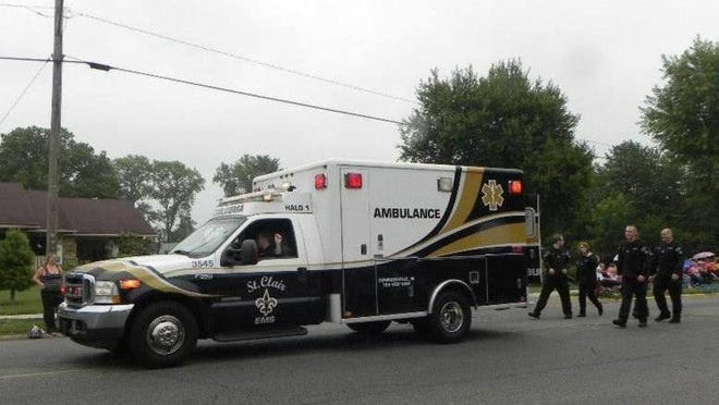 St. Clair EMS serves Union County.
