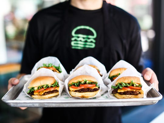 Shake Shack has grown to 200 national locations across the world since its humble beginnings in New York's Madison Square Park. The restaurant uses 100 percent all-natural Angus beef and high-quality ingredients free of antibiotics or hormones.