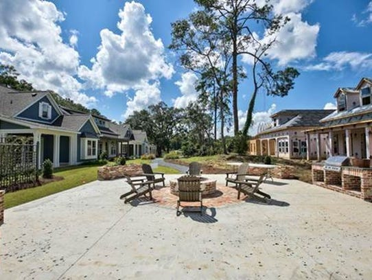 These Braemore Park homes by the Naumann Group in Tallahassee