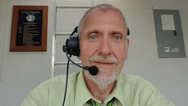 Bruce Arlett announced Bloomfield football games from 2002-2016 and worked the scoreboard for some winter sports teams.