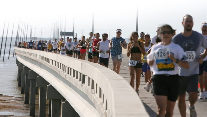 During the first week ofDecembera three-phase project to repair and upgrade the infrastructure of the JFK Bridge is scheduled to start.The project will span 18 months and conclude in May 2023.The bridge is shown here during the Beach to Bay Relay Marathon in May 2014.