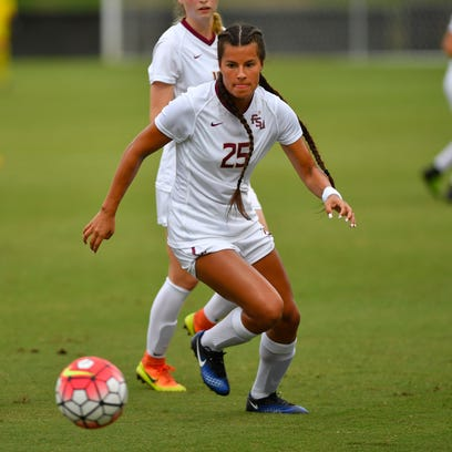 Emily Madril picked up two assists in her debut as