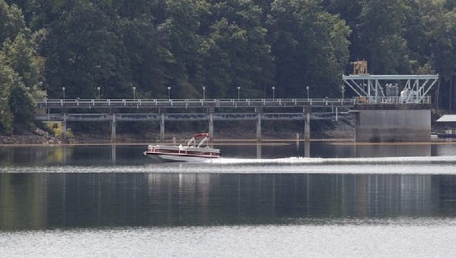 The Anderson Regional Joint Water System's intake on Lake Hartwell is south of creeks that could overflow with sewage should city of Anderson pump stations fail. The city will spend $4.6 million to replace the the two stations.