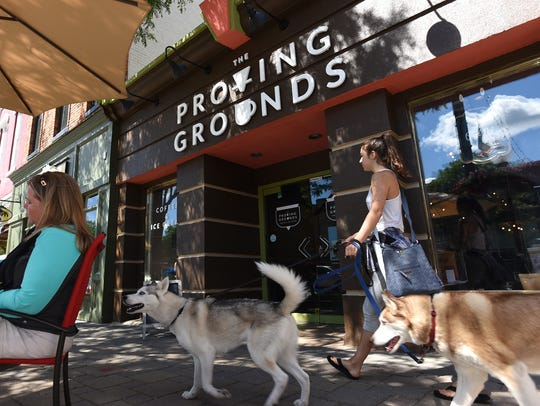 Proving Grounds Coffee and Ice Cream is at 369 North