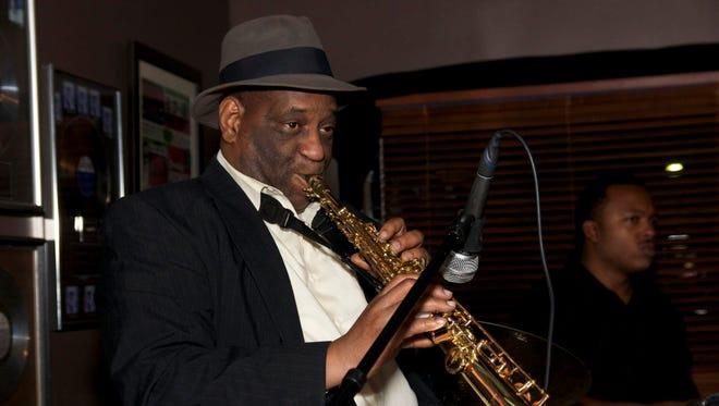 Saxophonist Allan Barnes