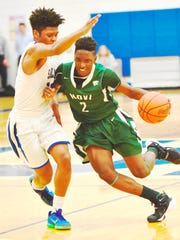 Novi's Traveon Maddox, Jr. (right) is committed to