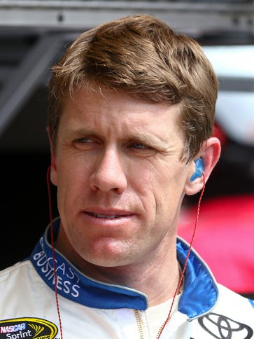 Will Carl Edwards be able to win back-to-back spring
