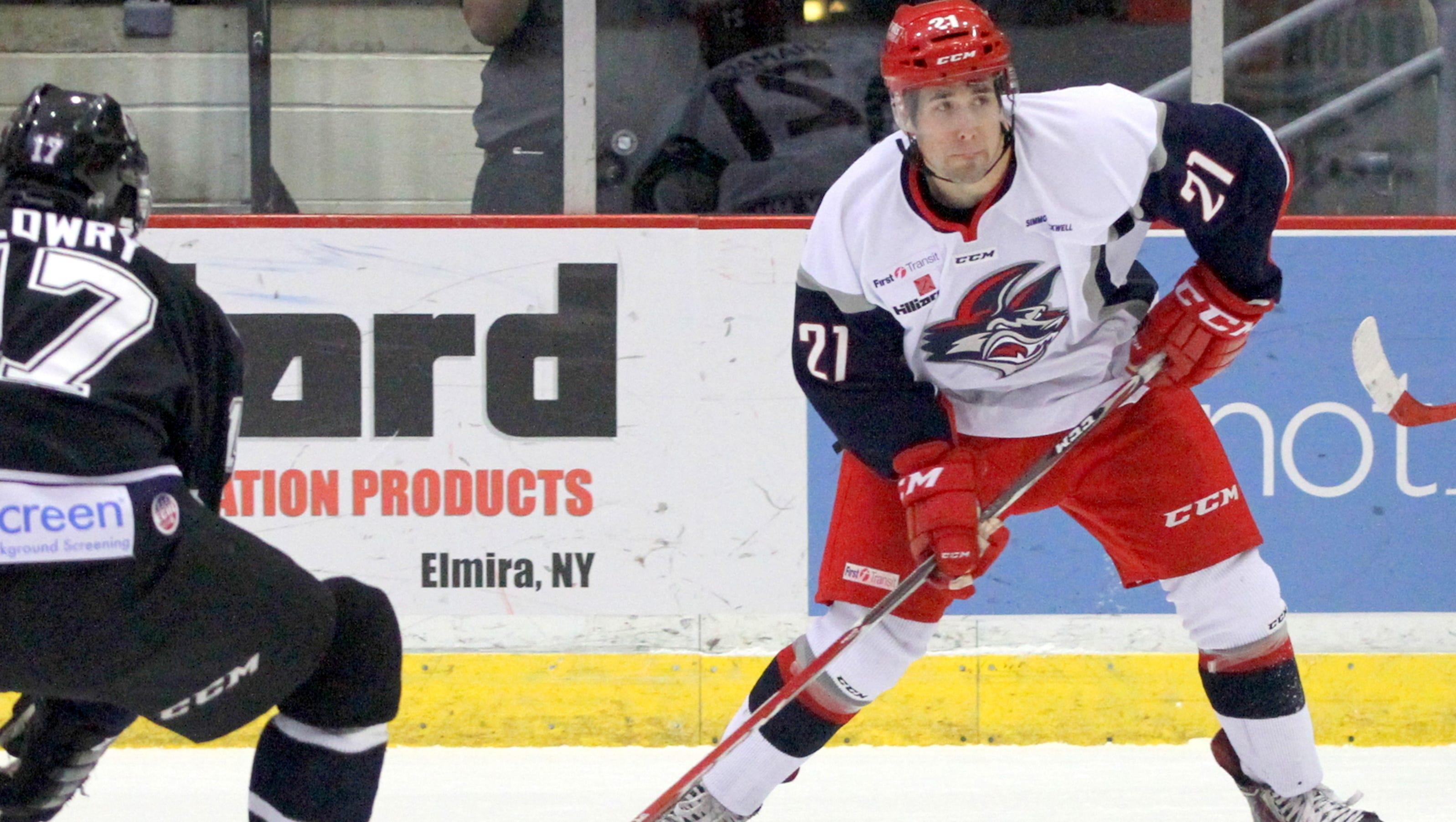 Jackals rookie Shamanski is playing at all-star level - Elmira Star-Gazette