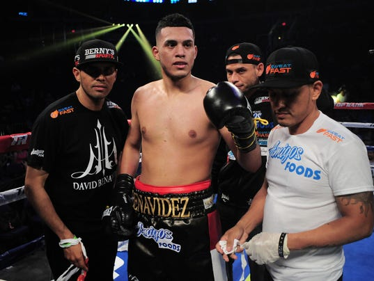 Boxing: Benavidez vs Campillo
