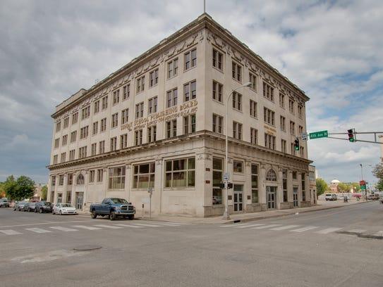 Morris Memorial Building, 330 Charlotte Ave., downtown