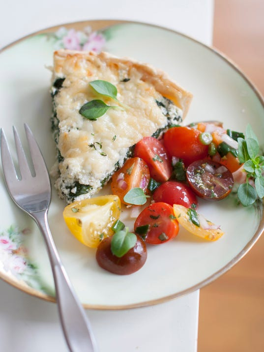Food Mothers Day Ricotta Tart