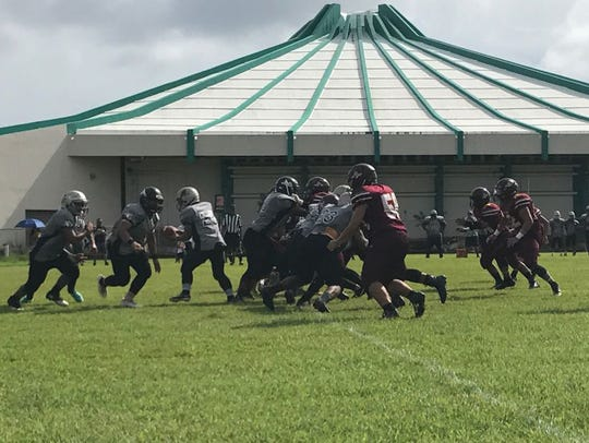 Friars and Sharks faced off on Saturday in high school