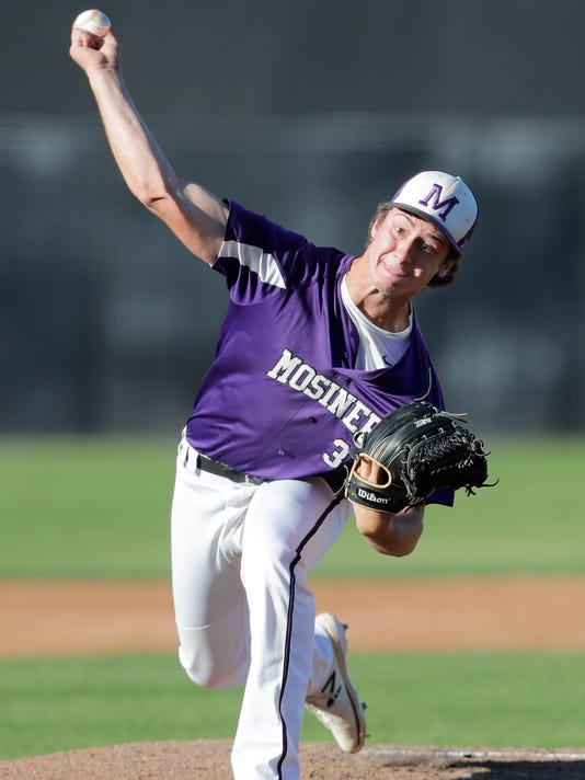 WIAA state baseball Mosinee