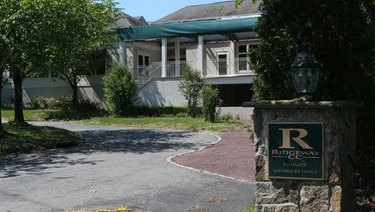 The former Ridgeway Country Club in White Plains, which has been shuttered since 2011.