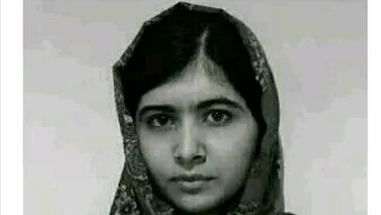 Malala Yousafzai, in a photo that appeared on the Malala Fund Twitter account.
