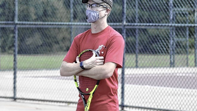 Cody Rannebarger is in his first season as coach of the South girls tennis team. Rannebarger, a 2014 South graduate who played for the boys tennis squad, replaced Ryan French, who stepped down after eight years.