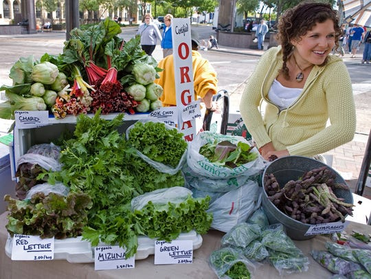 The Dane County Farmers Market is reported to be the