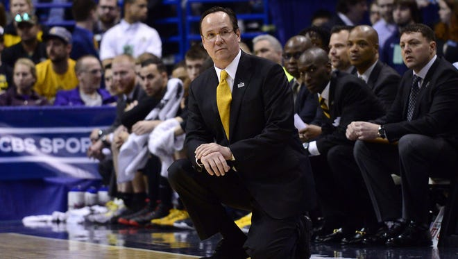 Wichita State Shockers head coach Gregg Marshall.
