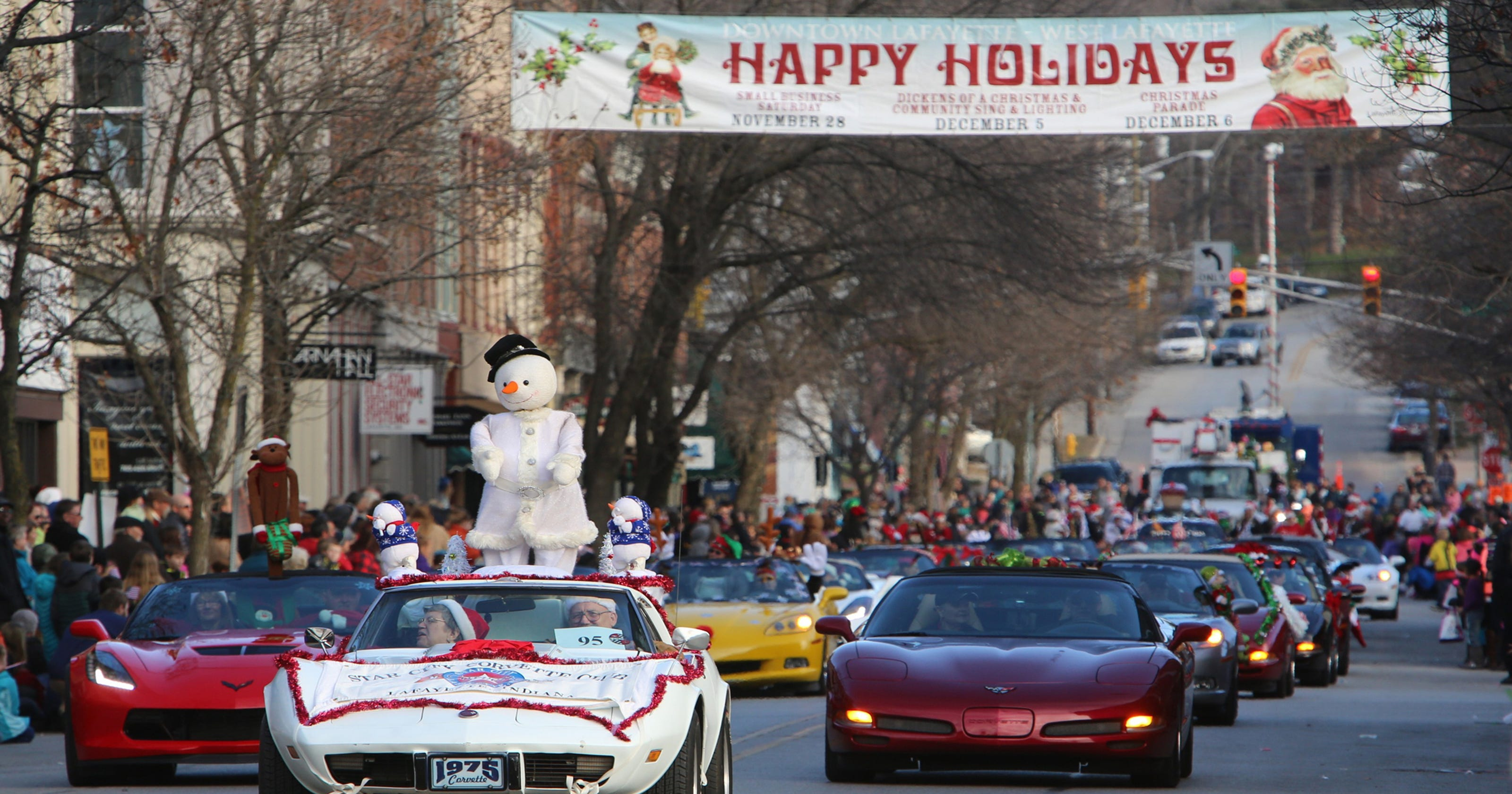 Lafayette and Delphi Christmas parades canceled due to weather