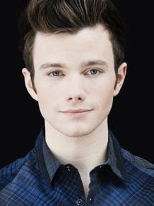 Actor and author Chris Colfer