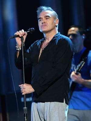 Morrissey performs during the Nobel Peace Prize concert in Oslo in 2013.