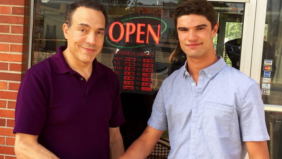 Northville Lacrosse Player A Life Saver For Barber At Mens Salon