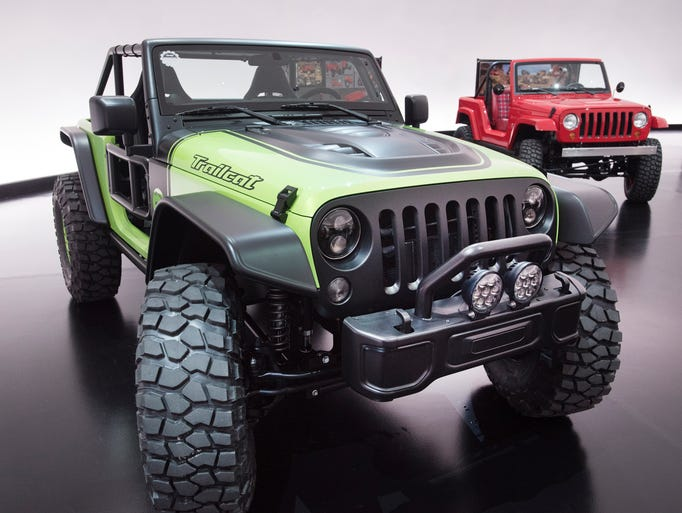 The Jeep Trailcat is a Hellcat-powered off-roader capable