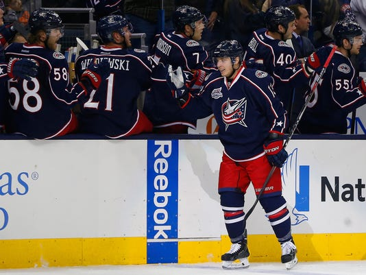 NHL: Washington Capitals at Columbus Blue Jackets