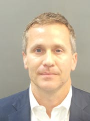 Missouri Gov. Eric Greitens' booking photo. He was