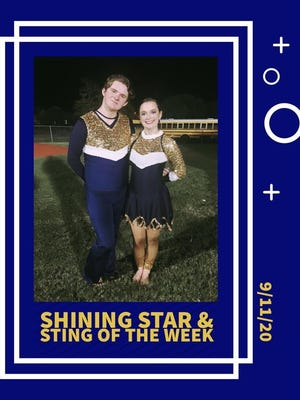 The Stephenville High School Stingerettes are proud to recognize Junior Dylan and Freshman Nora for their efforts the week of the Sept. 11 Salado game. Congratulations dancers!